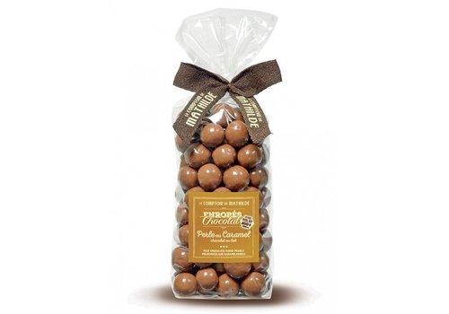 Le Comptoir de Mathilde Perles de Chocolat au Lait Caramel en sachet 200g 12st
