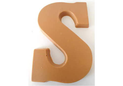 Choc.Letter Caramel  S 6st