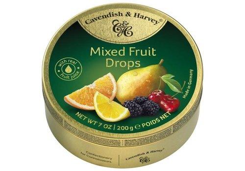 Cavendish & Harvey Cavendish & Harvey Mixed Fruit Drops 200g 9st