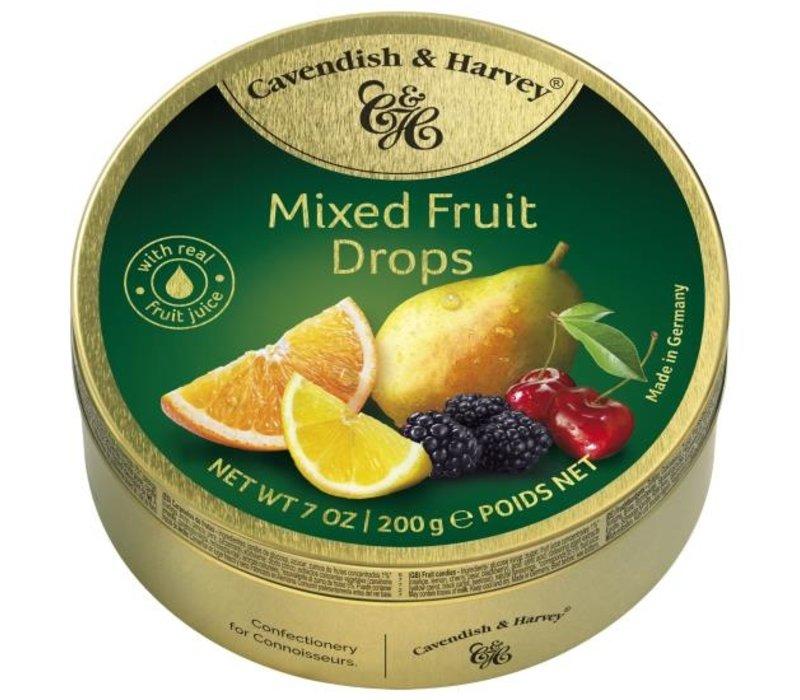 Cavendish & Harvey Mixed Fruit Drops 200g 9st