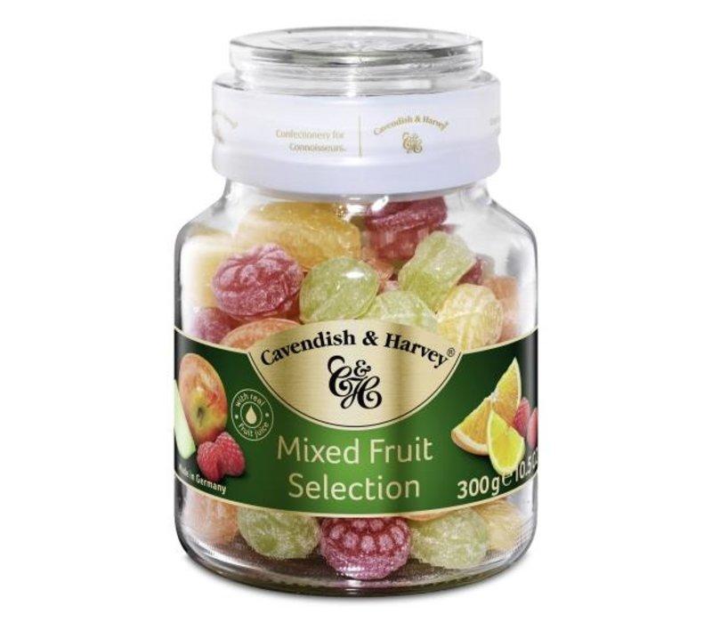 Cavendish & Harvey  Fruit candies 300g pot 13st