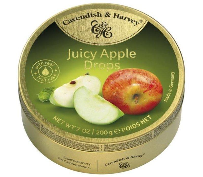 Cavendish & Harvey Apple Drops 200g 9st
