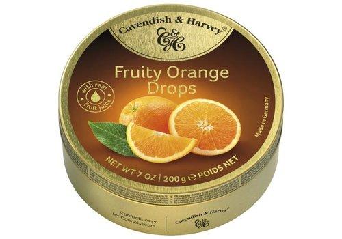 Cavendish & Harvey Cavendish & Harvey Orange Drops 200g 9st