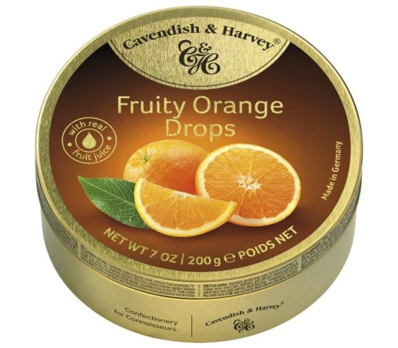 Cavendish & Harvey Orange Drops 200g 9st