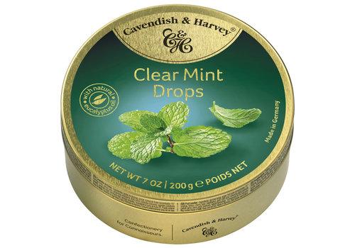 Cavendish & Harvey Cavendish & Harvey  Clear Mint Drops 200g