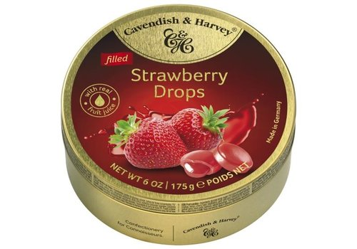 Cavendish & Harvey Cavendish & Harvey Strawberry Candies 175g 9st