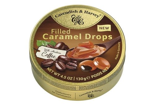 Cavendish & Harvey C&H Coffee filled caramel 130g 11st