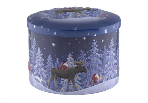 Gardiners of Scotland Nordic Nights Seasalt & Caramel fudge tin 250g 12bl.