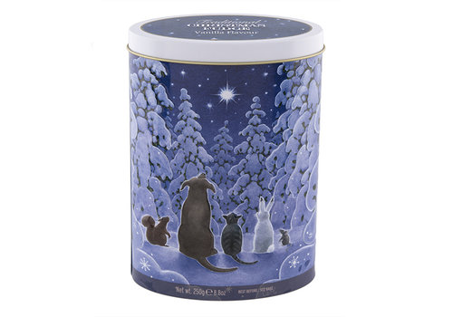 Gardiners of Scotland Xmas Star Gazers fudge tin 250g 12bl.