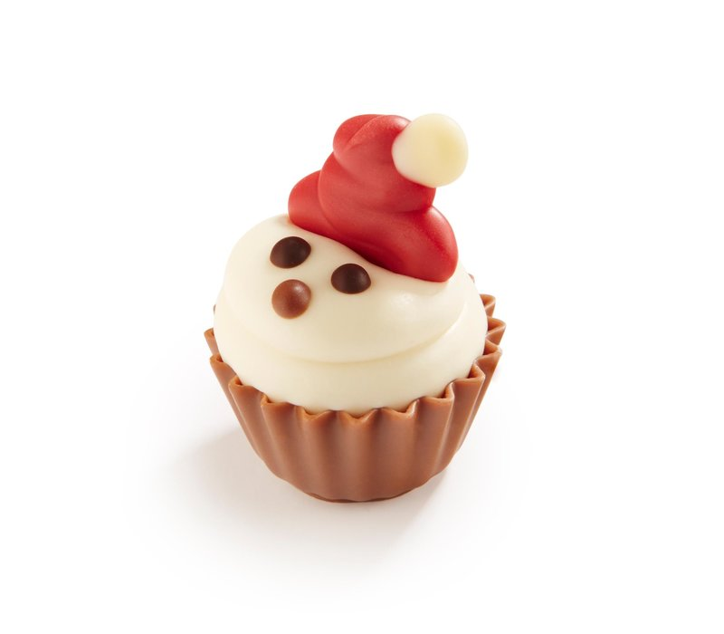 Cupcake Kerstman 22g 1,2kg