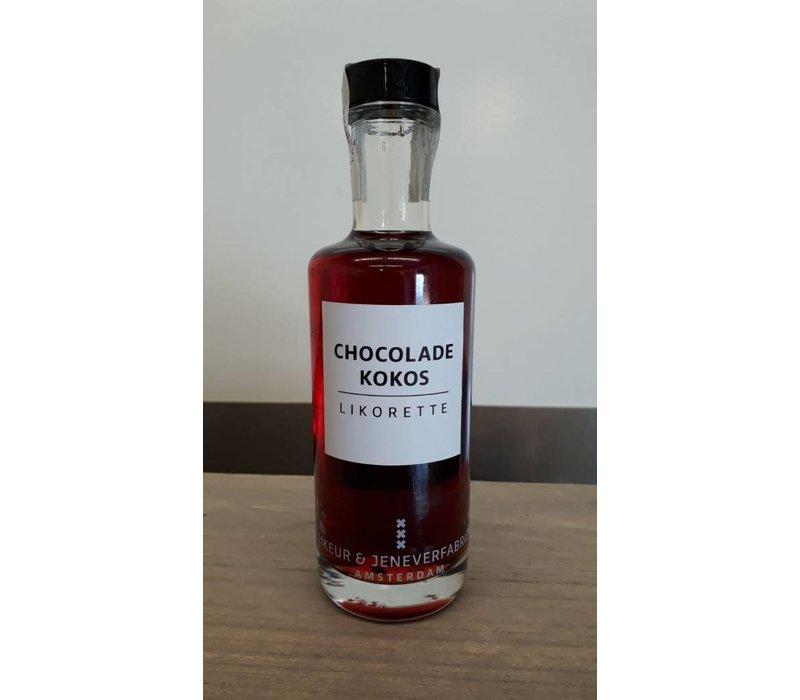 Likorette Chocolade Kokos 20cl 14,5% 12st