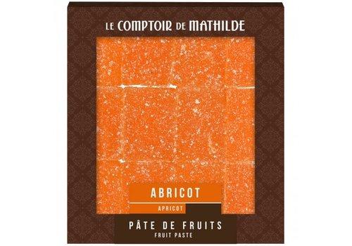 Le Comptoir de Mathilde Pate de Fruits 108g Abricot 12st