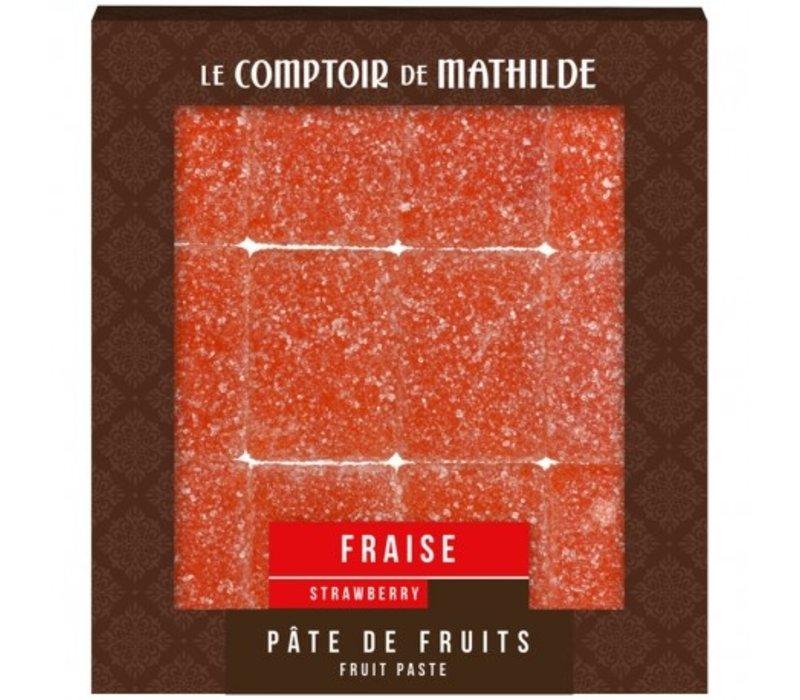 Pate de Fruits 108g Fraise 12st