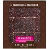 Le Comptoir de Mathilde Pate de Fruits 108g Framboise 12st