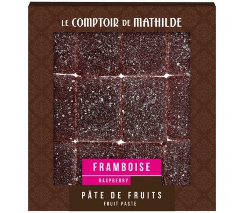 Pate de Fruits 108g Framboise 12st