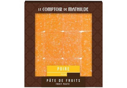 Le Comptoir de Mathilde Pate de Fruits 108g Poire 12st