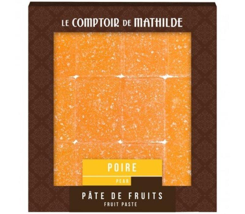 Pate de Fruits 108g Poire 12st