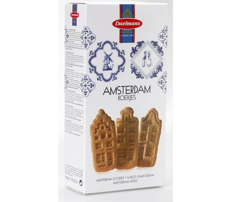 Daelmans Amsterdamse koekjes 140g 12st