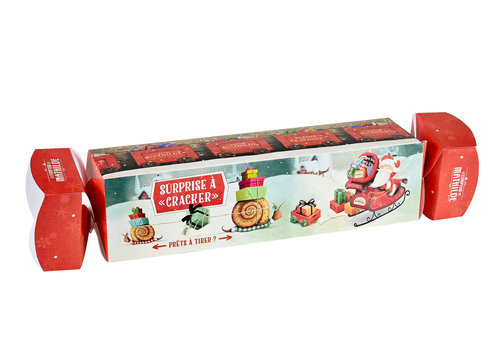 Le Comptoir de Mathilde Noel Maxi crackers Noel 100g 12st