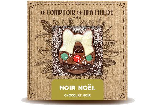 Le Comptoir de Mathilde Noel Tablette Noir 80g 12st