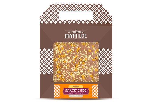 Le Comptoir de Mathilde SNACK CHOC LAIT CARAMEL 200G 6st