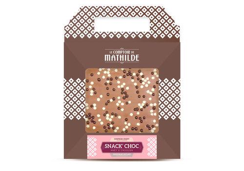 Le Comptoir de Mathilde SNACK CHOC LAIT CRISPY 200G 6st