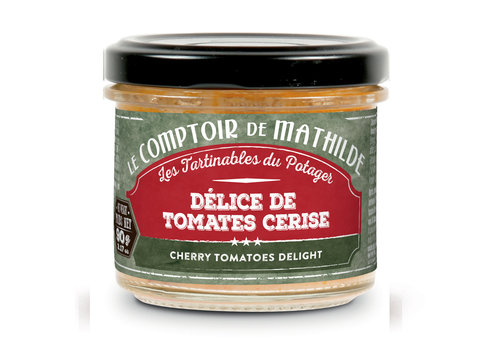 Le Comptoir de Mathilde DELICES DE TOMATES CERISE 90G 12st