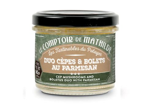 Le Comptoir de Mathilde DUO CEPES BOLETS PARMESAN 90G 12st