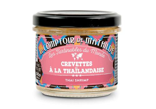 Le Comptoir de Mathilde CREVETTE A LA THAILANDAISE 100G 12st