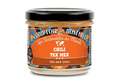 Le Comptoir de Mathilde CHILI A LA TEX MEX 100G 12st