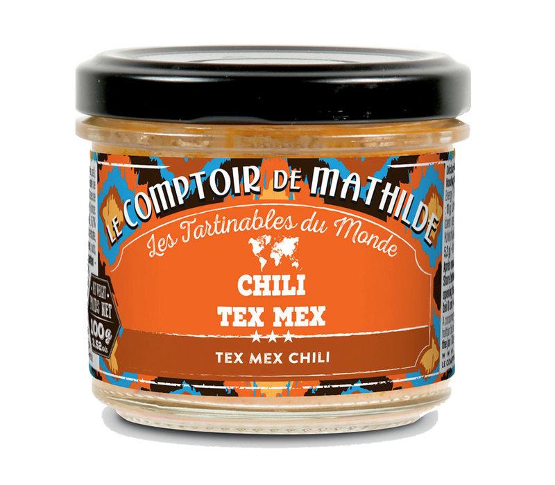 CHILI A LA TEX MEX 100G 12st