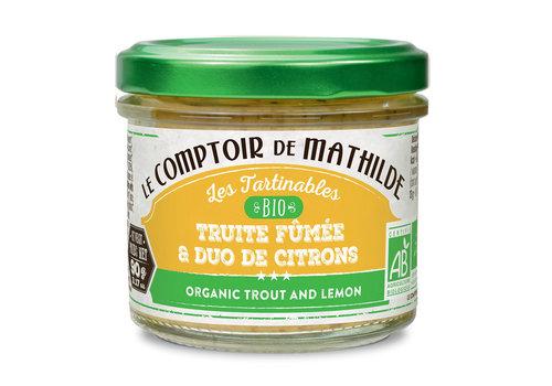 Le Comptoir de Mathilde TRUITE AUX 2 CITRONS BIO 90G 12st