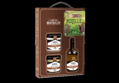 Le Comptoir de Mathilde COFFRET IL ÉTAIT UNE FOIS LA MORILLE 10CL+100G+100G 6st