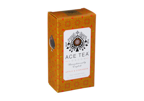 Ace Tea Ace Tea Apple & Cinnamon Tea  Carton - 15 Tea Stockings 10st