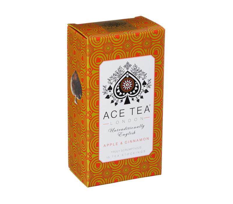 Ace Tea Apple & Cinnamon Tea  Carton - 15 Tea Stockings 10st