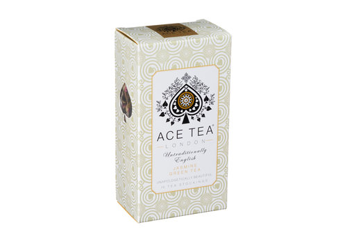 Ace Tea Ace Tea Jasmine Green Tea Carton - 15 Tea Stockings 10st