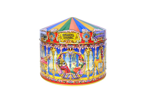 Churchill's Magic Carousel tin 400g Vanilla & Toffee 12bl