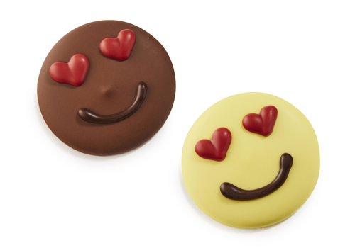 Liefdevolle emoji m/gl 9g 1,5kg