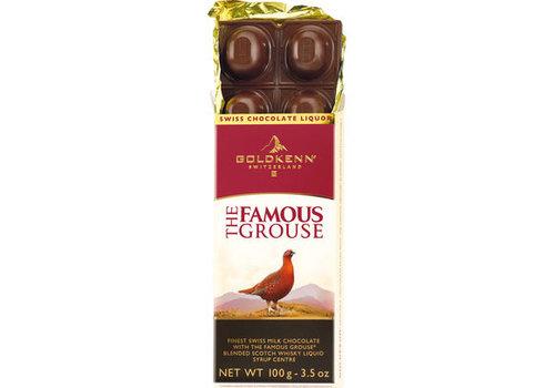 Goldkenn Liqueur Famouse Grouse bar 100g 10st