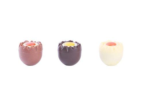 Smikkeleitjes mini m/p/w assorti met hazelnootpraliné 13g 2,7kg