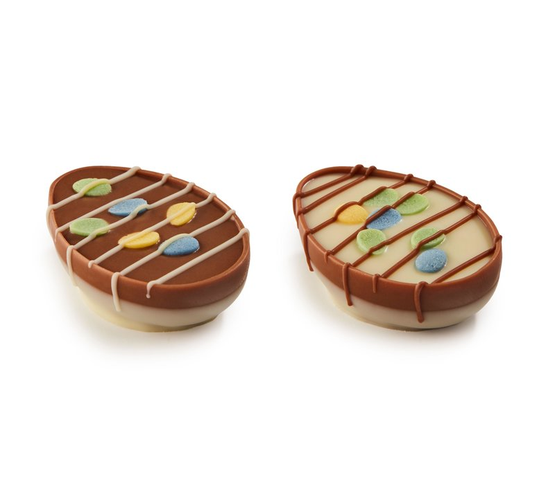 Joyful eggs m/w assorti met chocolade mousse 1,5kg