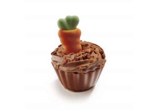 Wortel cupcake krokante chocoladecrème 19,4g 1,15kg