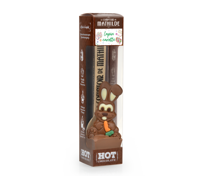 HOT CHOCOLATE LAIT LAPIN CAROTTE 30G 24st