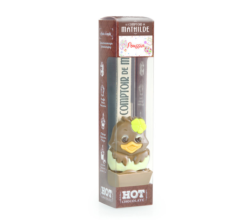 CUILLERE HOT CHOCOLATE LAIT POUSSIN 30G 24st