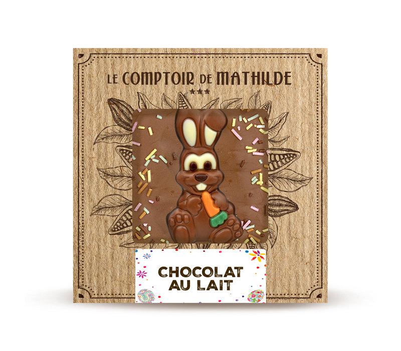 TABLETTE CHOCOLAT AU LAIT EDITION 80G 12st