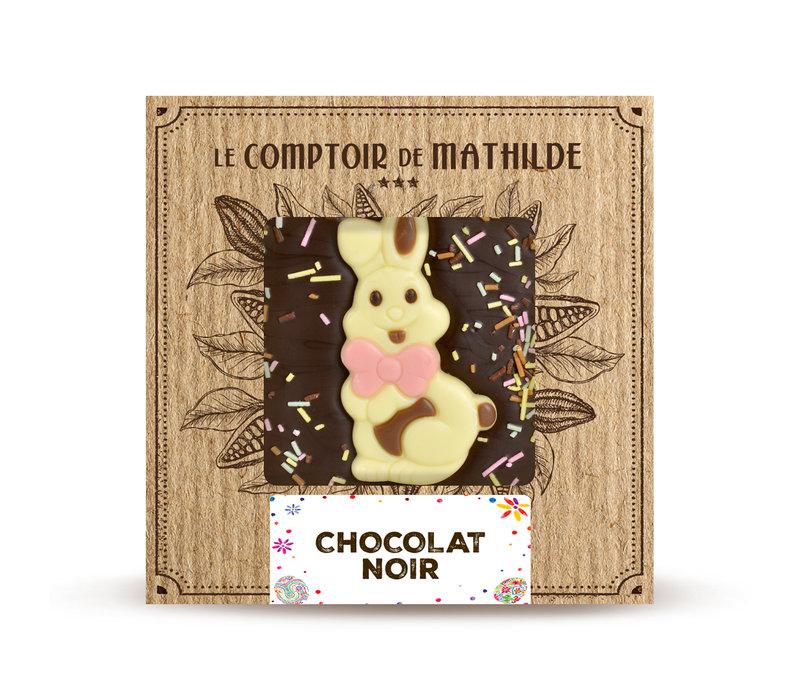 TABLETTE CHOCOLAT NOIR EDITION PRINTEMPS 80G 12st