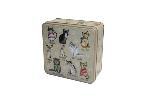 Grandma Wild's Embossed Cats in Jumpers Tin 160g 6st