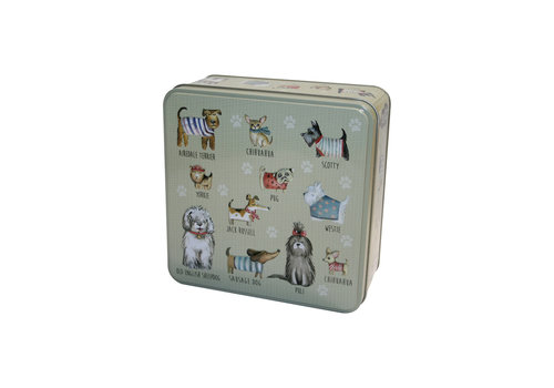 Grandma Wild's Embossed Dog in Jumpers Tin 160g 6st