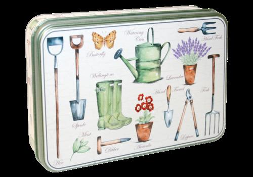 Grandma Wild's Embossed Garden Tin 150g 6st