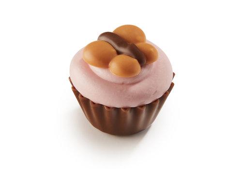 Lente cupcake met vlindertje 22,5g 1kg